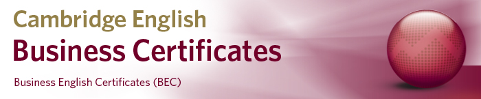 Cambridge English Business Certificates