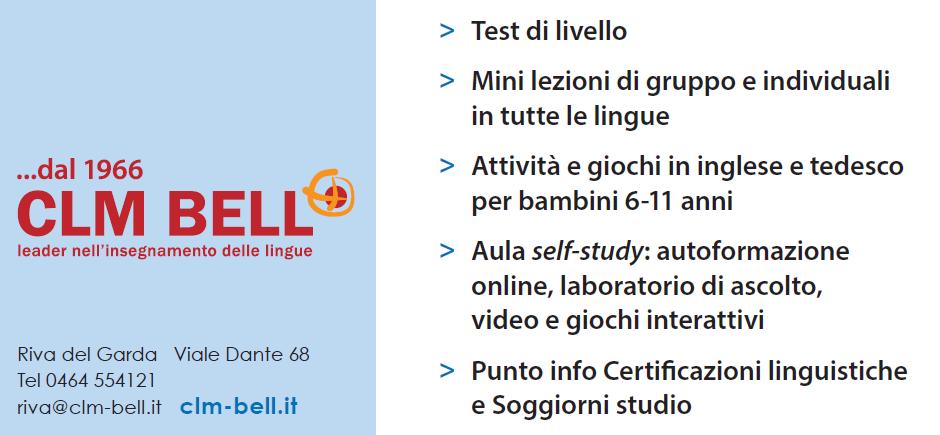 Open Day 2019   Riva del Garda - CLM BELL